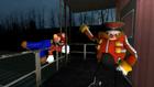 Mario On A Train