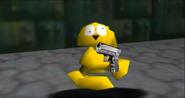 HE HAS A GUN
