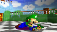 Mario And The T-Pose Virus 003