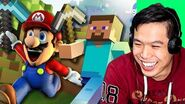 SMG4 talks about 'If Mario Was In Minecraft'