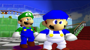 Mario And The T-Pose Virus 006