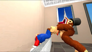 Mario Having A Nice Refreshing Drink Of Water