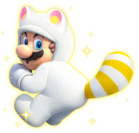 Mario Tanooki Bianco - Super Mario 3D World.png