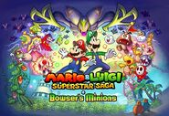 Mario & Luigi Superstar Saga Scagnozzi di Bowser - Group Art 2