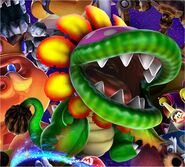 Dino Piranha Artwork1 - Super Mario Galaxy