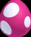 Pink baby yoshi egg