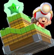 Capitano Toad - Super Mario 3D World
