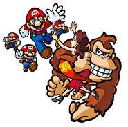 Mario Donkey Kong Pauline Mini Artwork - Mario vs. Donkey Kong 2 La Marcia dei Minimario