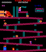 25m Screenshot - Donkey Kong (arcade)