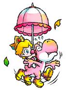 Baby Peach - Yoshi's Island DS