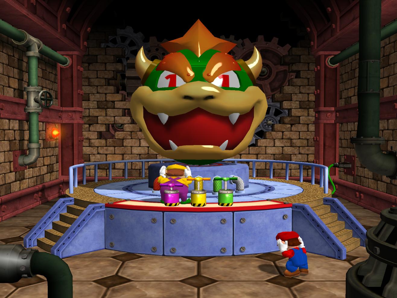 Esplosione Bowser (Mario Party 4)