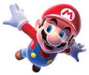 Mario Artwork - Super Mario Galaxy