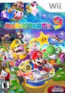 Mario party 9 european box art