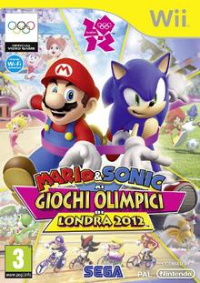 Mario & Sonic ai Giochi Olimpici di Londra 2012 Wii - Boxart Ita.png