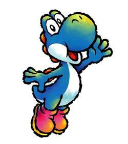 Yoshi blu