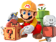 Mario Artwork1 - Super Mario Maker.png