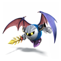 Meta Knight Artwork - Super Smash Bros. per Nintendo 3DS e Wii U.png