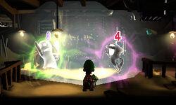 Verdino e Ninjasma accecati dallo Strobobulbo