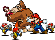 Mario Donkey Kong Pauline Mini Artwork - Mario vs. Donkey Kong Parapiglia a Minilandia.png