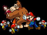 Mario Donkey Kong Pauline Mini Artwork - Mario vs. Donkey Kong Parapiglia a Minilandia