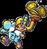 Baby Wario Artwork - Yoshi's Island DS