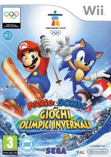 Mario & Sonic ai Giochi Olimpici Invernali Wii - Boxart Ita.png