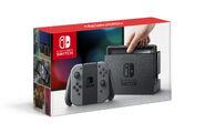 Nintendo Switch (Joy-Con grigi) - Boxart