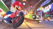 Elettrodromo Screenshot1 - Mario Kart 8