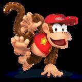 Diddy Kong Artwork - Super Smash Bros. per Nintendo 3DS e Wii U.png