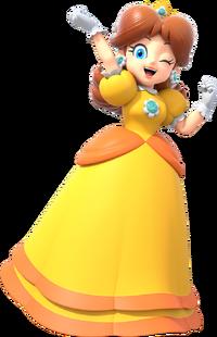 Daisy Artwork - Super Mario Party.png