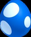 Blue baby yoshi egg