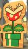 Sagoma di legno Pianta Piranha MKT