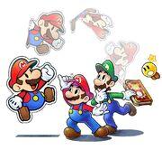 Mario & Luigi Paper Jam Bros. Key Artwork.jpg