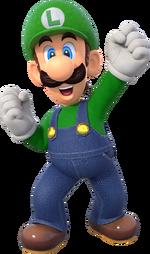 Luigi Artwork - Super Mario Party.png