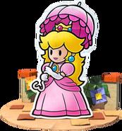 Peach Artwork Paper Mario Color Splash
