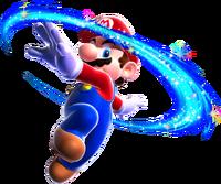 Mario esegue una Piroetta.