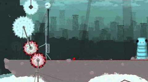 Super Meat Boy Gameplay Boss 5 Larries Lement