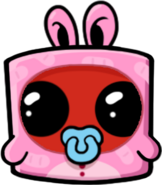 Super meat boy forever character art nugget 01