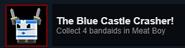 Blue castle crasher achievement