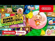 Super Monkey Ball Banana Mania – Announcement Trailer - E3 2021