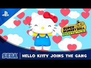 Super Monkey Ball Banana Mania - Hello Kitty Character Reveal - PS5, PS4