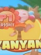 YanYanbeingonhertail2