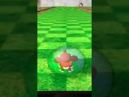 AiAi's Main Game Idle Animation in Super Monkey Ball 2