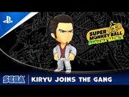 Super Monkey Ball Banana Mania - Kiryu Character Reveal (Yakuza Series) - PS5, PS4