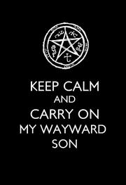 Keep Calm Supernatural.png