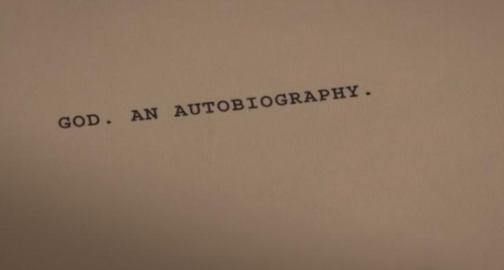 God's autobiography