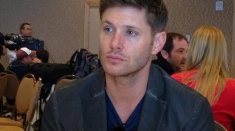 2013 Comic-Con Press Room SUPERNATURAL's Jensen Ackles