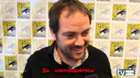 Марк Шеппард на ComicCon 2013 rus subs