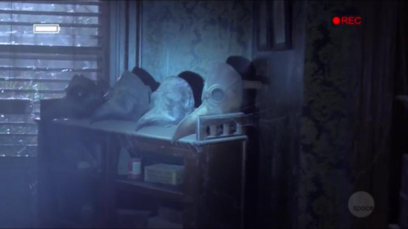 Avery Meadows' plague masks