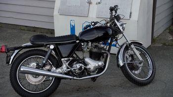 Arthur Ketch's motorcycle